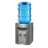 filtro de água gelada com garrafão Capivari