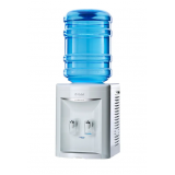 filtros de água gelada e natural com galão Americana
