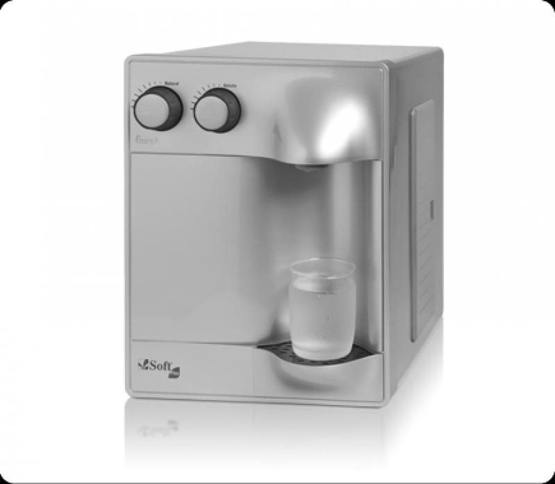 Venda de Purificador de água com Compressor Campinas - Purificador de água de Mesa